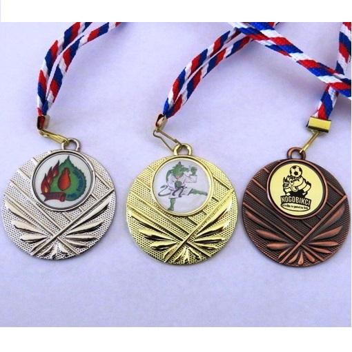 Komplet 3 medalj ( zlata, srebrna, bronasta) 50/2 mm
