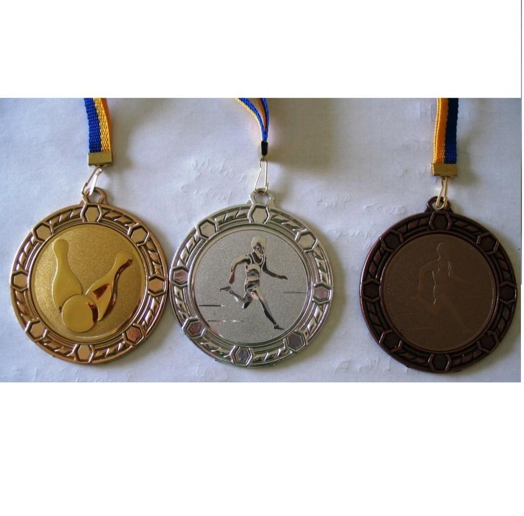 Komplet 3 medalj ( zlata, srebrna, bronasta) 70/3 mm