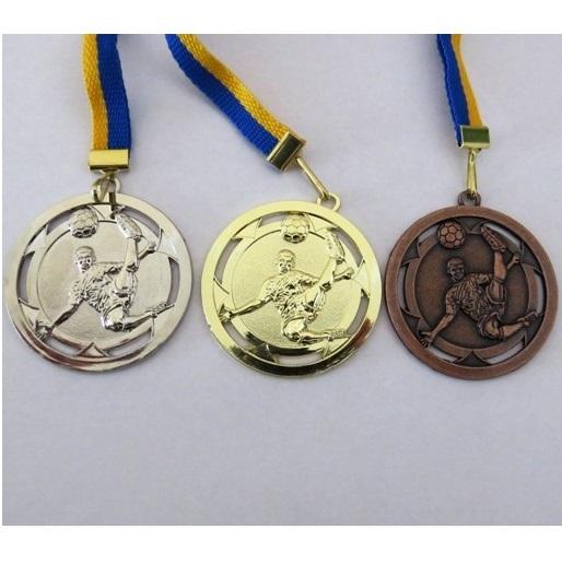 Komplet 3 medalj za NOGOMET ( zlata, srebrna, bronasta) 50/3 mm