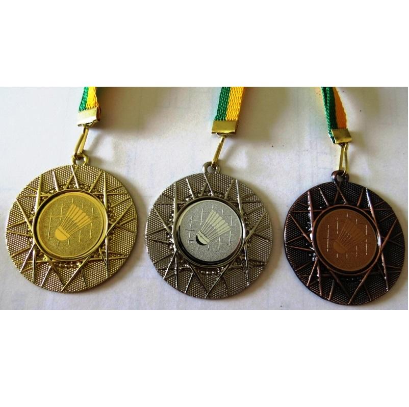 Komplet 3 medalj za NOGOMET ( zlata, srebrna, bronasta) 50/6 mm